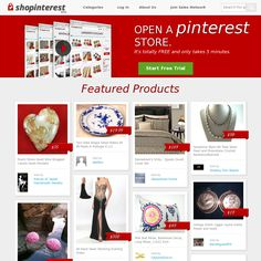 ShopInterest.co is an e-commerce tool that allows Pinterest users to create their own online store from their Pinterest pins. Be careful; this one is highly addictive.