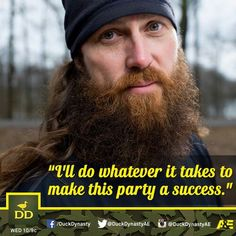 ... Jase Robertson on his daughter Mia's party, a.k.a. the Robertson