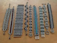 Beautiful Chainmaille pieces