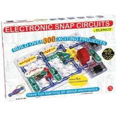This is the BEST gift for ANY kid-- build OVER 300 projects with NO tools-- Snap Circuits ROCK!