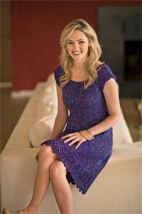 City Lights Dress - dress knitting pattern, knit dress pattern