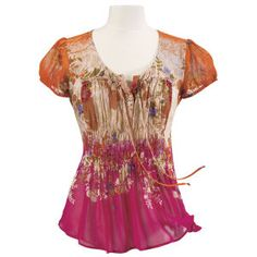 Sunrise Chiffon Top - New Age & Spiritual Gifts at Pyramid Collection