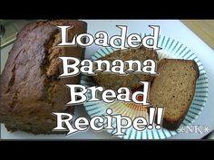 Loaded Banana Bread Recipe! Noreen's Kitchen