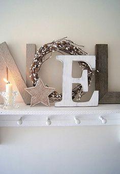 letter, holiday home decor, christmas decorations, christma decor, christmas displays