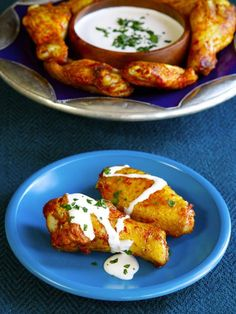 Spicy Middle Eastern Chicken Wings - Healthy Appetizer Recipe