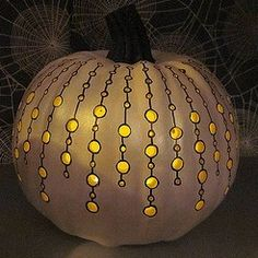 Pumpkin carving with a Dremel