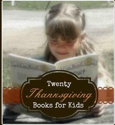 20 Thanksgiving Books for Kids