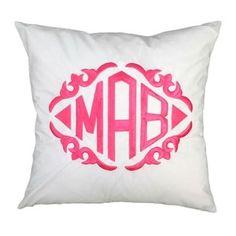 monogram white, apart inspir, product throw, white throw, master bedrooms