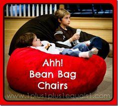 I want: Ahh Bean Bag Chairs