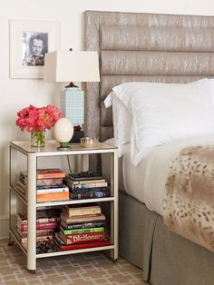 5 steps towards a stylish night table | Good Bones Great Pieces