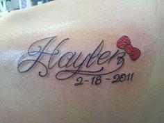 Got my daughters name tattooed!! - February 2011 Birth Club - BabyCenter