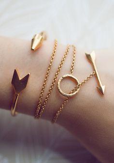 arrow bracelets....