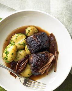 Red Wine Braised Beef Brisket - Martha Stewart Recipes
