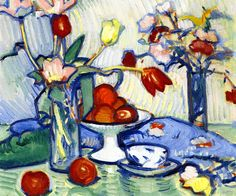 Tulips  Samuel John Peploe