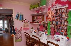 sew room, sewing rooms, craft rooms