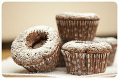Hazelnut Sunken Nutella Cupcakes | Vagabond Baking