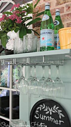 Upcycled Beverage Station :: Hometalk