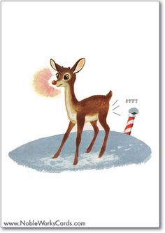 It's Christmas time. Let'er rip! http://www.nobleworkscards.com/1104-rudolph-fart-funny-superindustriallove-merry-christmas-card.html