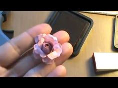 3d paper, how to make paper roses, card-making tutorial videos, paper flowers, papers, crafti lesli, how to make roses for cards, scrapbook, card tutorials