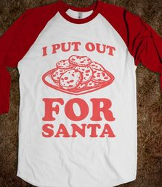 I Put Out For Santa #naughtylist #christmas #skreened #holiday #cookies