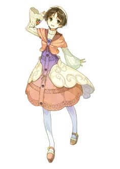 Games Movies Music Anime: Atelier Ayesha Alchemist of the Ground of Dusk - New Character Arts, Renders