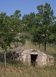 An abandoned root cellar along U.S. 24 in Rooks County, Kansas.