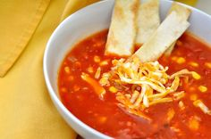 Spicy Tortilla Soup by Kohler Created, via Flickr