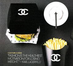 Fashion is the healthiest motivation for losing weight.  ~Karl Lagerfeld