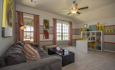 Lennar Kid's Game Room in Lakes Of Savannah: Savannah Cove - Vista Collection