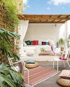 Amazing patio.