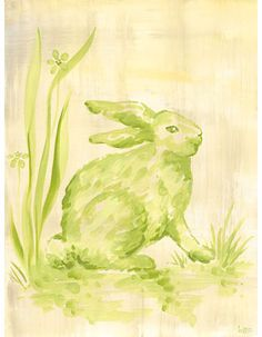 Easter - Toile Bunny