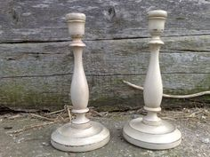 Candlesticks Shabby Chic And Shabby On Pinterest