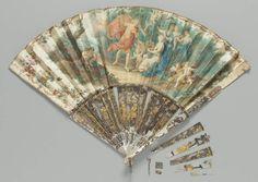 Fan, French, mid-18th century