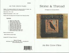 Gallery.ru / Фото #1 - Stone and Thread-As the Crow Flies - whitefall; free cross stitch pattern