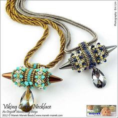 eTUTORIAL Viking Queen Necklace by maneklady