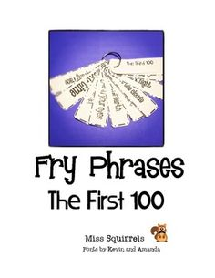 First 300 Fry Words in Black and White (these are perfect for my word work station!!)