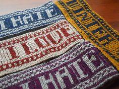 Contempt Headband Pattern #knit