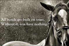 #trust #horse #bestfriend