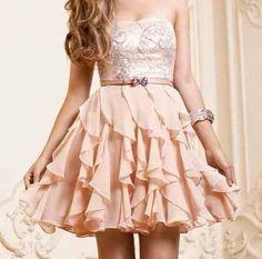dress cute dress cute pink classy creamy lace