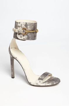Gucci Ursula Sandal in Grey White Gold *AreuthatGuccigirl? ursula sandal, shoe obsses, gucci ursula, sandals, gucci babi, grey sneak