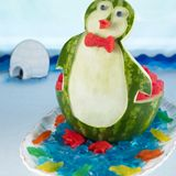 . fun food, penguin carv, carv includ, watermelon carving, fun recip, penguins, watermelon keg, carv watermelon, watermelons