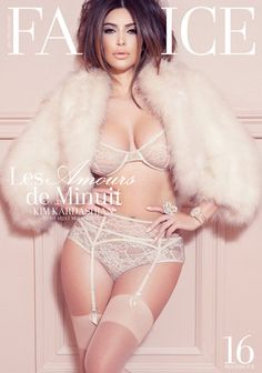 Lingerie and fur combo :)