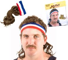 Mullet-On-The-Go: Never feel out of place at Wal-Mart again and its perfect for those White Trash Parties too!