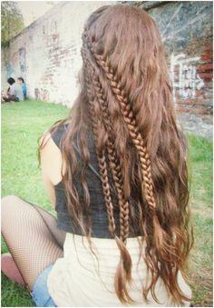 celtic braid on pinterest celtic hair shoelace braid