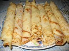 Hungarian Pancakes (Palacsinta)