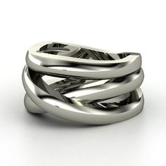 Wrap Ring, Sterling Silver Ring from Gemvara