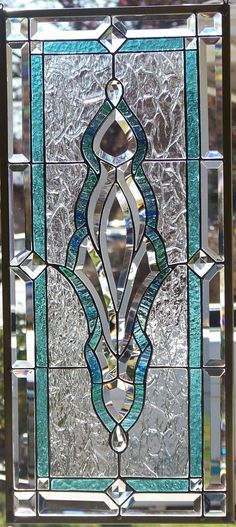 Stained Glass Window Hanging-would love this in my front entryway door