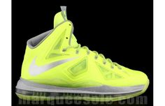 "Nike LeBron X ""Volt Dunkman"" volt, basketbal shoe, dunkman, sneaker, nike lebron, nike swag, lebron shoe"
