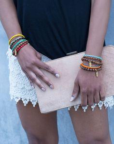 On The Blog: Brace-Let Yourself #dogeared #bracelets #sundaystyle