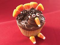 Turkey Cupcakes @Jess Liu Tennison